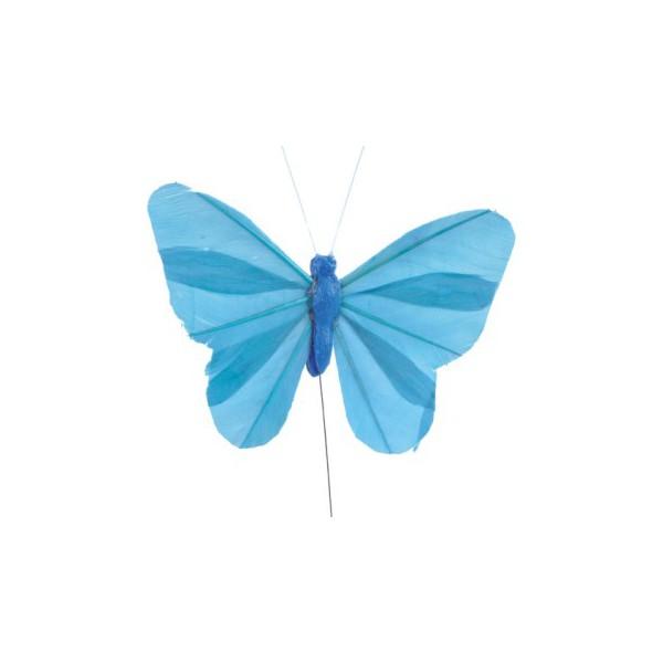 papillons d coratifs sur tige bo te drag es