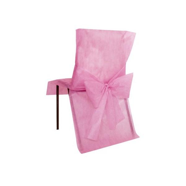 Housse de chaise avec noeud bo te drag es - Housse de chaise en papier ...