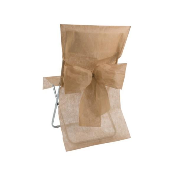 Housse de chaise avec noeud bo te drag es - Housse de chaise rouge ...