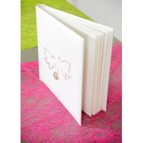 Livre d'or mariage colombes