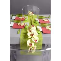 Orchidée artificielle sur tige