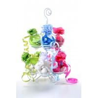 Présentoir à dragées spirale pour boules plastiques