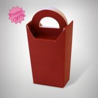 Ballotin dragées rouge (X10)