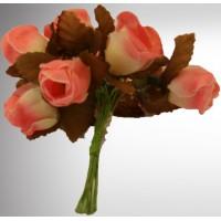 Des fleurs décoratives artificielles pour agrémenter vos boites dragées de mariage.