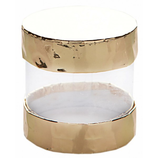boite drag es ronde transparente en carton. Black Bedroom Furniture Sets. Home Design Ideas