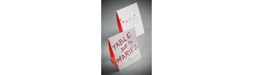 Marque tables