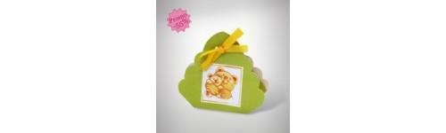 Boîtes pour dragées: Mini Paniers