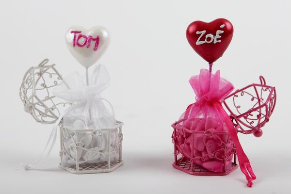 boites et contenants drages de mariage original et pas cher - Contenant Dragee Mariage