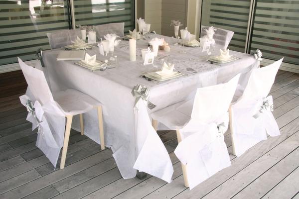 Décoration de table ou de salle communion