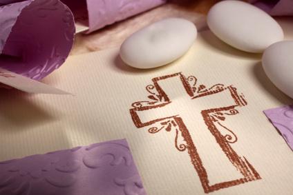 Dragées communion croix